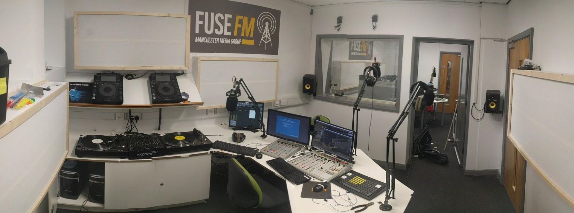 Fuse studio - Manchester Fuse FM